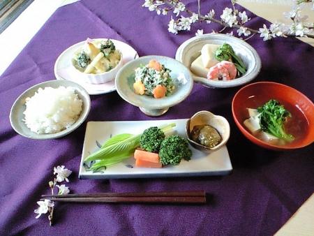 菜ぁの春料理