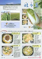 娃々菜レシピ