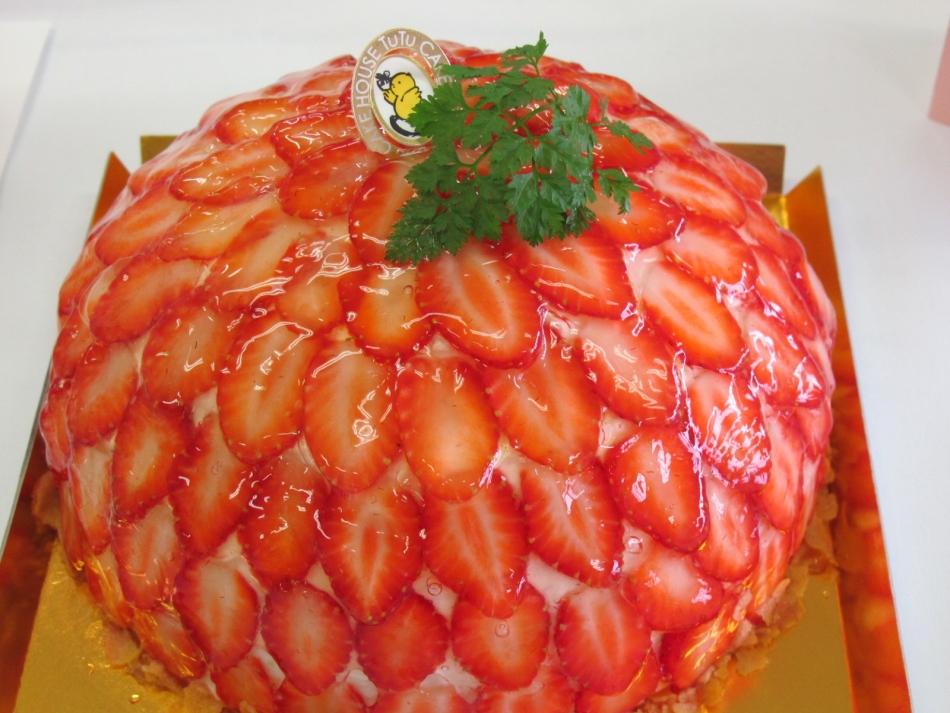 サマーティアラスイーツコンテストのいちごケーキ